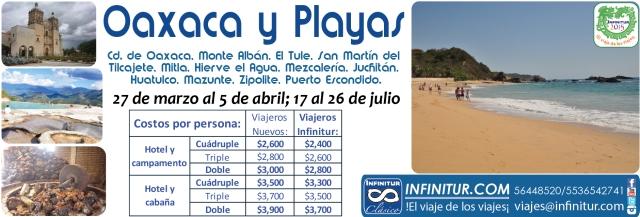 Oaxaca y Playas