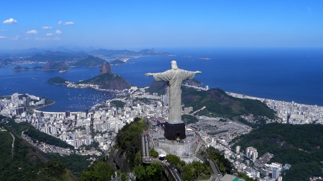 Cristo del Corcovado, Río de Janeiro, BR