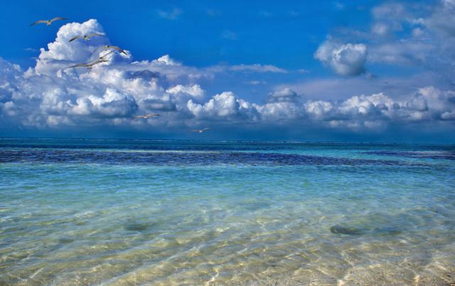 Playa Mahahual.