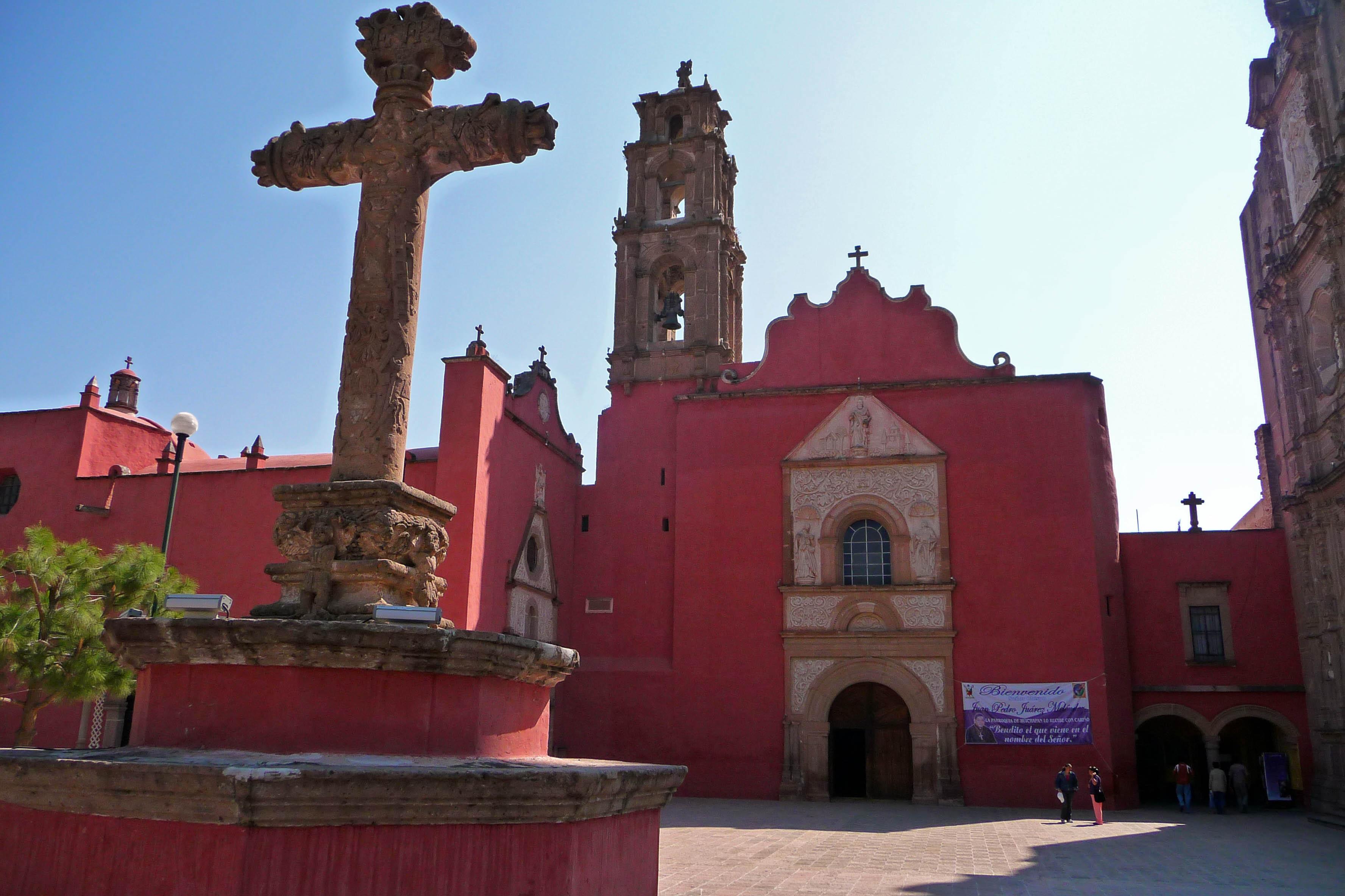 Parroquia de San Mateo Apóstol, Huichapan, de lo más destacado de la arquitectura religiosa de Hidalgo.
