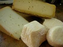 quesos de cabra y oveja